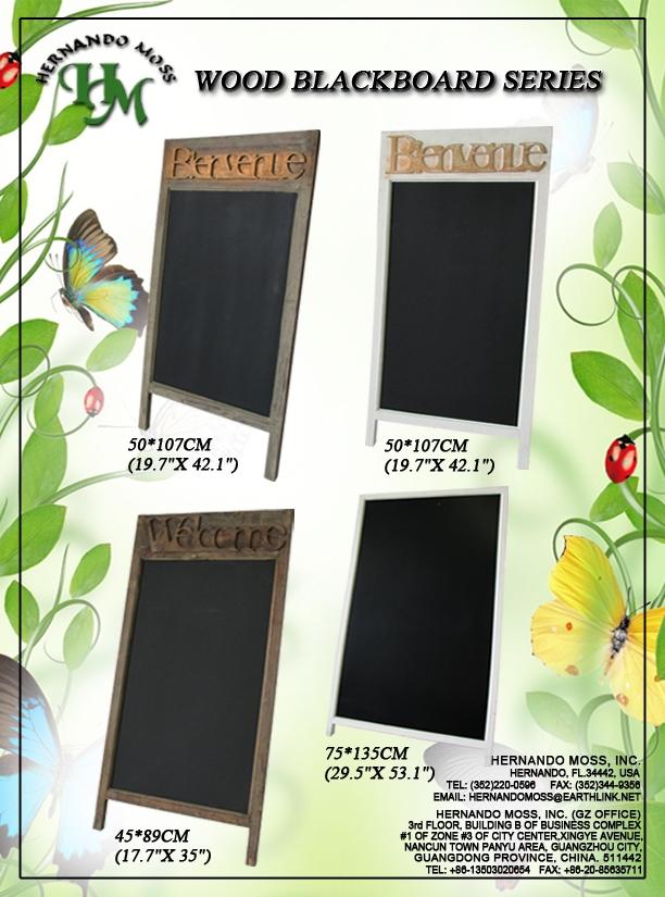 Wood Blackboard Series
