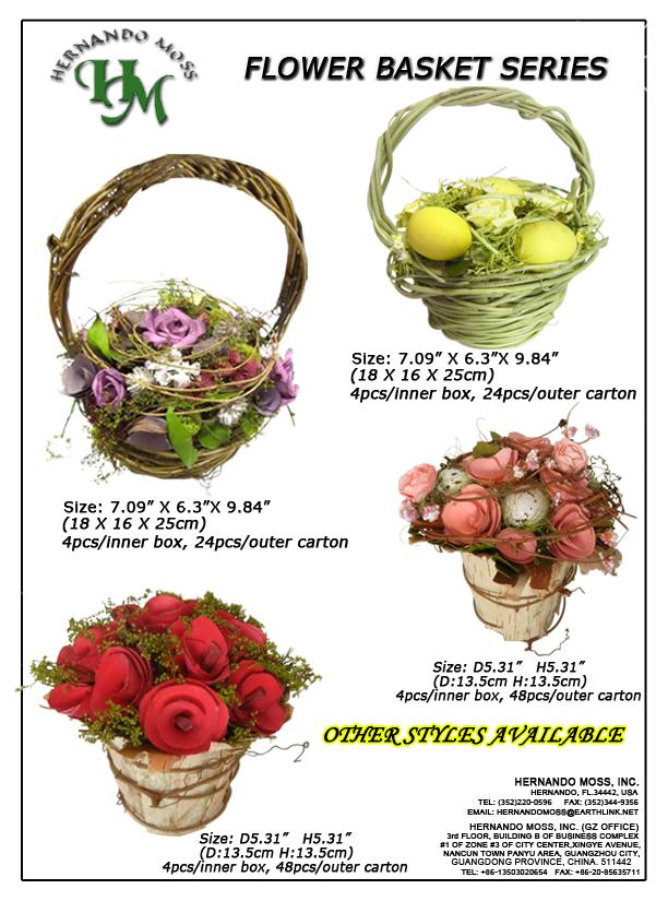 FLOWER BASKETS SERIES